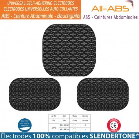Électrodes All-ABS - 100% Compatible Ceintures SLENDERTONE®