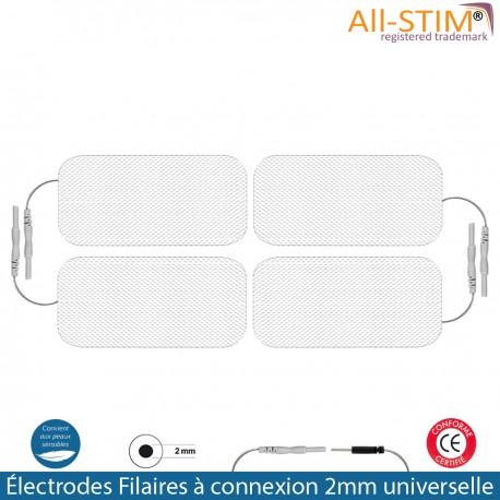4 électrodes 50x90