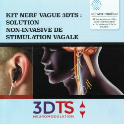 Electrode auriculaire pour stimulation du nerf vague
