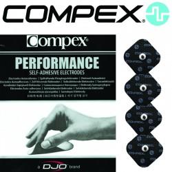 Électrodes COMPEX SNAP Performance - 5x5cm