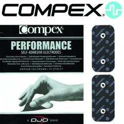 Électrodes COMPEX SNAP Performance - 5x10 Dual