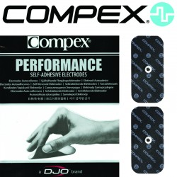 Électrodes COMPEX SNAP Performance - 5x10 Single