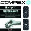Électrodes COMPEX SNAP Performance