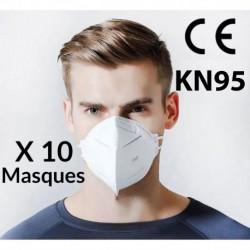Masque KN95 (Boîte de 10)