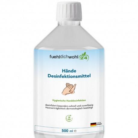 Fueldichwohl24 Gel hydroalcoolique 500ml pour les mains