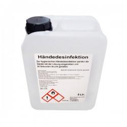 Antisept Gel hydroalcoolique Bidon 5l pour les mains