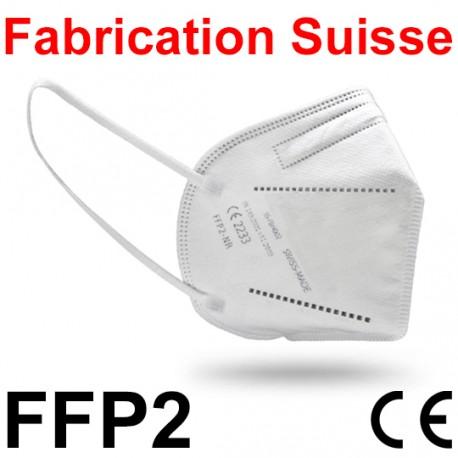 Masque FFP2 Fabrication Suisse