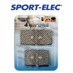 4 électrodes SPORT-ELEC Free Action