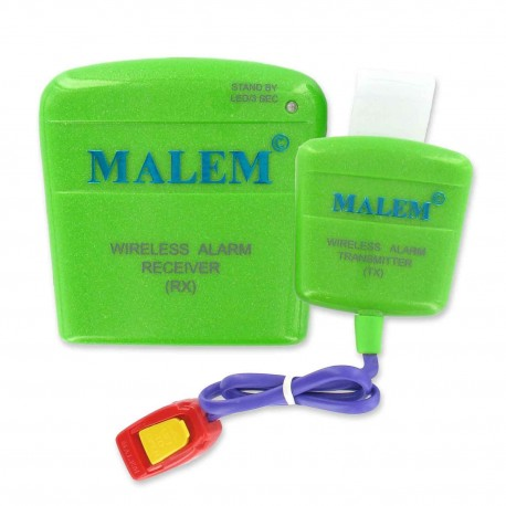 Alarme Stop Pipi au Lit Malem Wireless Sans Fil