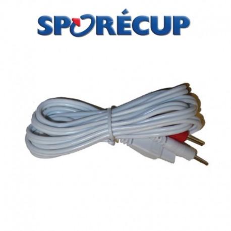 Câble pour SPORECUP Dolopatch et FitLight2