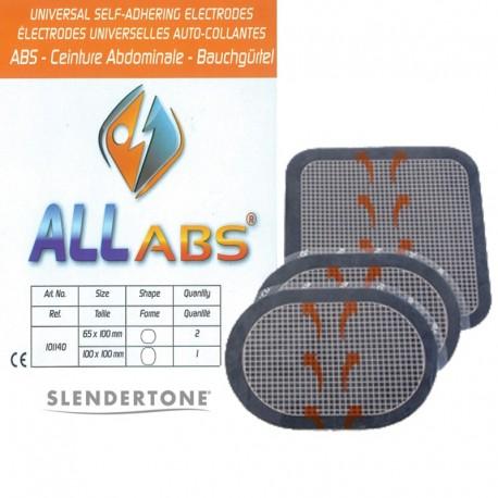2 Sachets Électrodes Ceinture SLENDERTONE